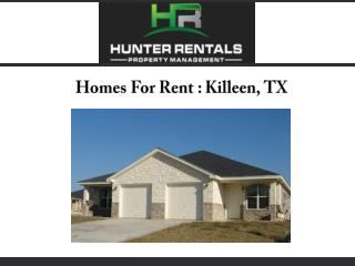 Homes For Rent : Killeen, TX