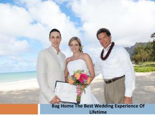 Bag Home The Best Wedding Experience Of Lifetime
