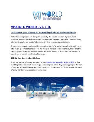 SMS Marketing Company in Noida India -visainfoworld.com