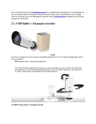 Beveilig Uw Leven Met Bewakingscamera