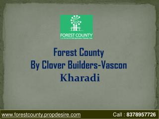 2 BHK Flats in Kharadi Pune, Forest Country