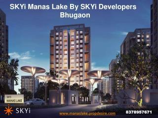 1 BHK Flats in Bhugaon Pune, SKYi Manas Lake
