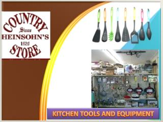 Kitchen Tools And Equipment For Kitchen