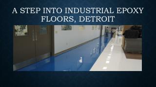 Industrial Epoxy Floors Detroit
