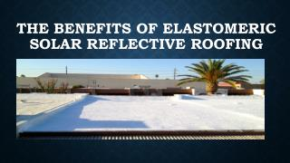 Commercial Elastomeric Roofing OHIO