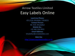 Garment label manufacturer easy labels online