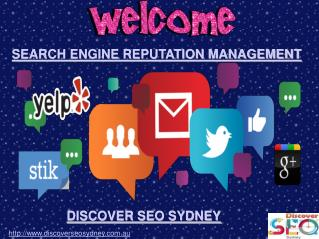 Search Engine Reputation Management | Discovcer SEO Sydney