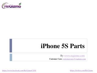 iPhone 5S Parts- Genuine Apple OEM and Non-OEM