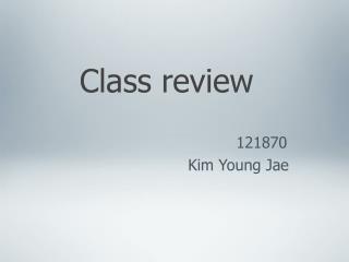 Class Review 10/15/15 EW2-060