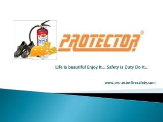 Safety Sign | Protector fire safety