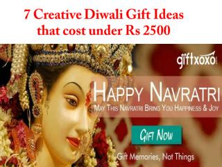 7 creative diwali gift ideas that cost under 2500
