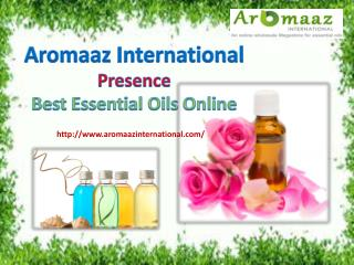 Aromaaz international presence best essential oils online!