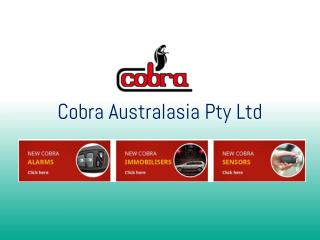 Car security systems from Cobra – A name you can trust