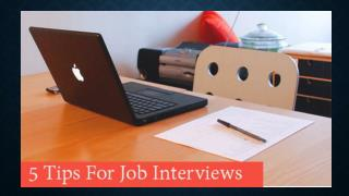 5 Mistakes You Already Make Before Job Interview
