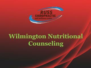 Wilmington Nutritional Counseling