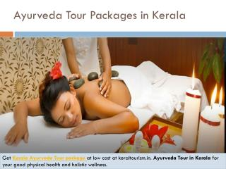Ayurveda tour packages in kerala