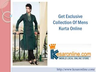 Buy Mens Kurta | Designer Kurta Online Shopping