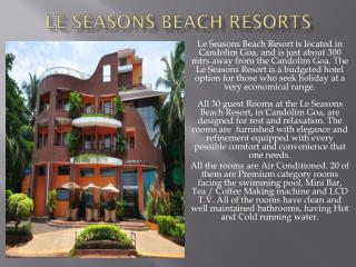 Le Season Beach Resort