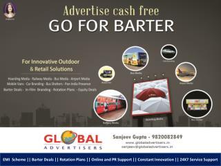 Bus Media for Builders- Global Advertisers
