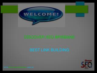 link building | Discover SEO Brisbane