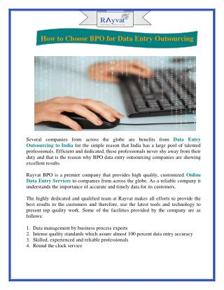 Business Process Outsourcing India