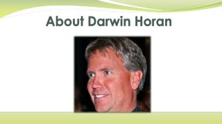 About Darwin Horan