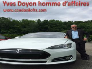 Yves Doyon homme d'affaires