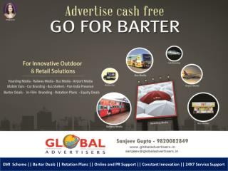 Barter Deals in Mumbai - Global Advertisers
