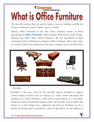 What is Office Furniture
