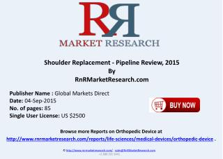 Shoulder Replacement Companies and Product Pipeline Review 2015