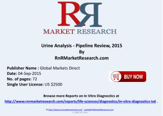 Urine Analysis Companies and Product Pipeline Review 2015