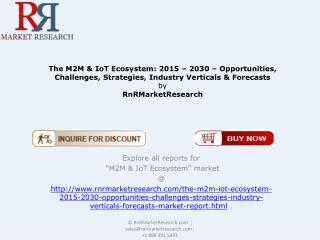Global M2M & IoT Ecosystem Market Revenue Analysis and Forecasts Report 2030