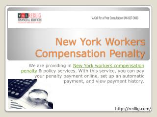 New York Workers Compensation Penalty