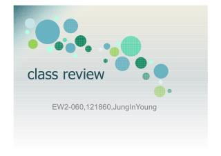 Class Review!