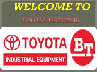 Material Handling Equipment India