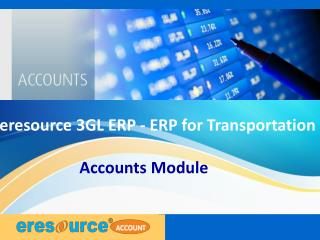 Accounts module eresource 3 gl erp(erp for transportation)