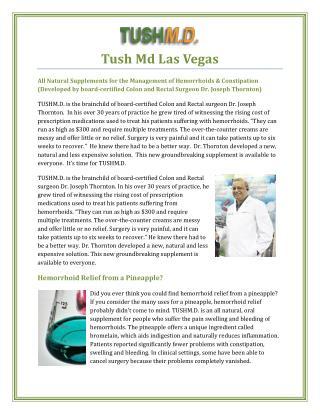 Tush Md Las Vegas