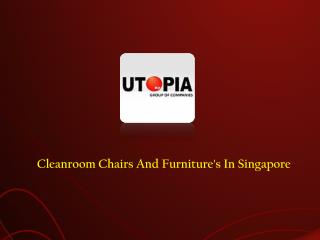 Cleanroom chairs & furnitures