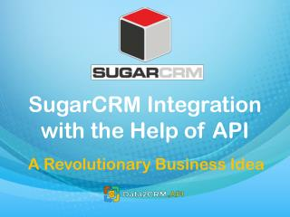SugarCRM API Integration