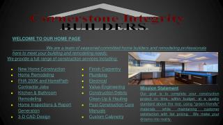Kitchen, Bathroom Remodeling, Home Inspection, Window Installation, custom rood additions and Cabinet refacing, Builder