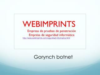Gorynch botnet