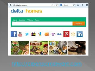 easiest way to remove Delta Homes Portal Site from Computer