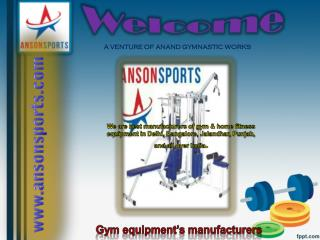 Best home and Gym fitness equipments in India