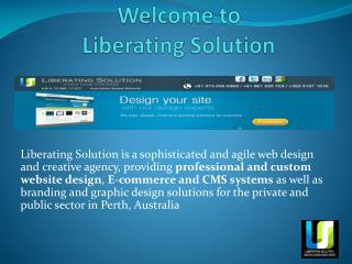 Liberating Solution - Web Development Company Perth