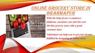 Online grocery store in Brahmapur