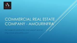 Commercial Real Estate Company - Amourinfra