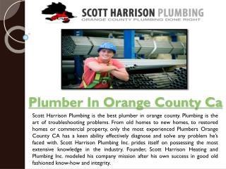 plumbing services in orange county