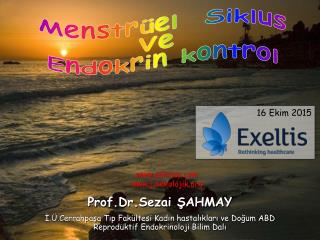 Menstrüel siklus ve Endokrin Kontrol