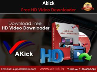 AKick - Get Latest Online Video Downloader