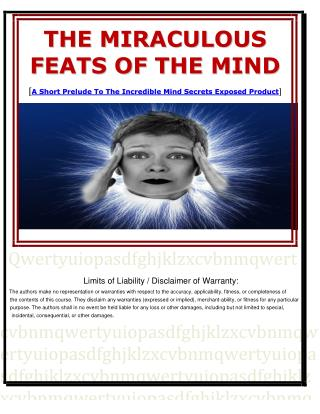 The Secret Subconscious Mind Power